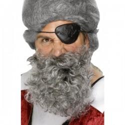 Barba de pirata blanca - Imagen 1