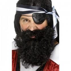 Barba de pirata negra - Imagen 1