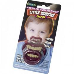 Chupete de pequeño vampiro - Imagen 1