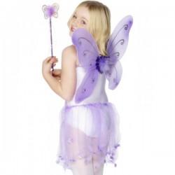 Alas de mariposa moradas - Imagen 1