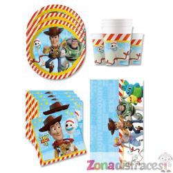Decoración cumpleaños Toy Story 4 16 personas - Imagen 1