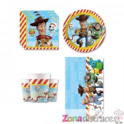 Decoración cumpleaños Toy Story 4 8 personas - Imagen 1