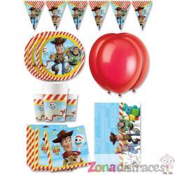 Decoración cumpleaños premium Toy Story 4 16 personas - Imagen 1