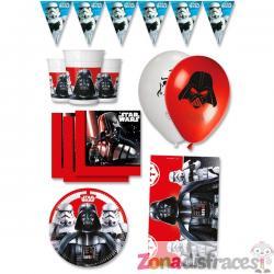 Decoración cumpleaños para Fiesta Star Wars premium 16 personas - Final Battle - Imagen 1