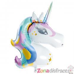 Globo de foil unicornio (73x90cm) - Imagen 1