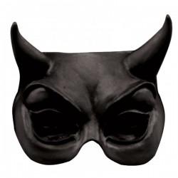Máscara Half Mask Evil Halloween - Imagen 1