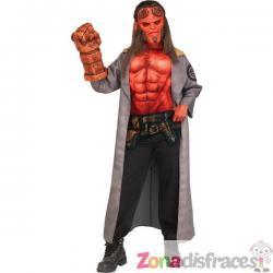 Disfraz de Hellboy para niño - Imagen 1