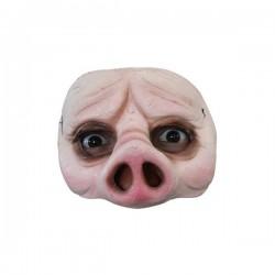 Máscara Half Mask Pig Halloween - Imagen 1