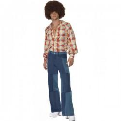 Pantalones de campana de hombre - Imagen 1