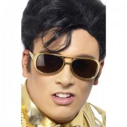 Gafas de sol de Elvis doradas - Imagen 1