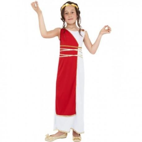 Disfraz de griega clásica para niña - Imagen 1
