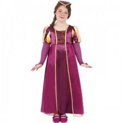 Disfraz de dama Tudor para niña - Imagen 1