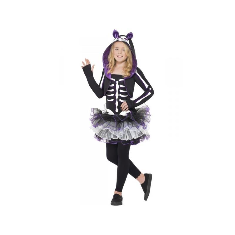 Comprar disfraz de esqueleto de gatita para ni a online - Disfraces de gatitas para nina ...