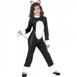Disfraz de gato molón para niña - Imagen 1