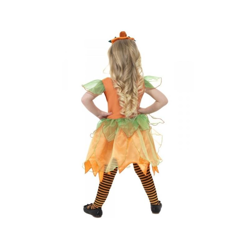 Disfraz de hada calabaza para niña. Comprar Online