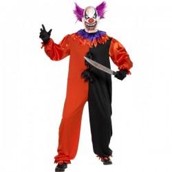 Disfraz de payaso espeluznante del Circo Siniestro - Imagen 1