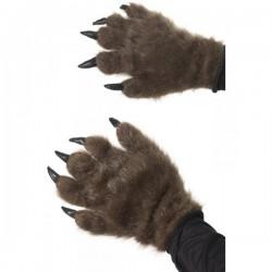 Manos de monstruo peludo marrón - Imagen 1