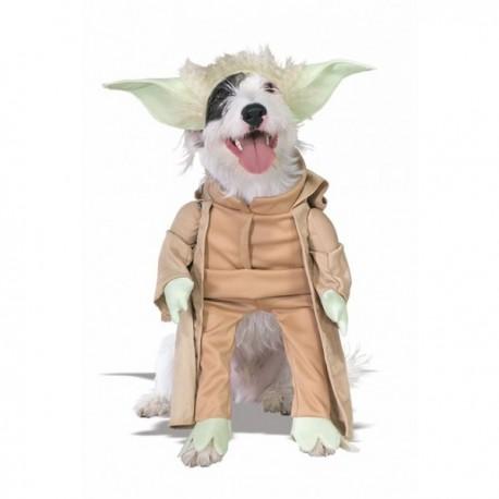 Disfraz de Yoda para perro - Imagen 1