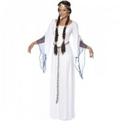 Disfraz doncella medieval - Imagen 1