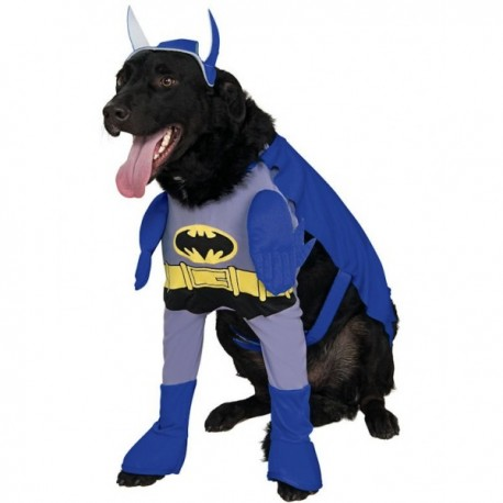 Disfraz de Batman para perro - Imagen 1