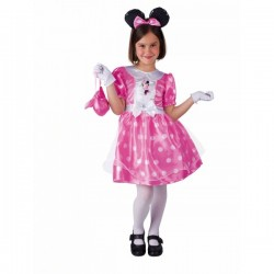Disfraz de Minnie clásico rosa - Imagen 1