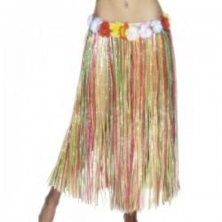 Falda hawaiana multicolor - Imagen 1