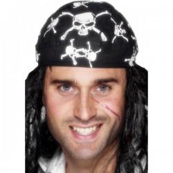 Pañuelo de pirata estampado - Imagen 1
