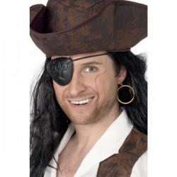 Parche pirata y pendiente - Imagen 1