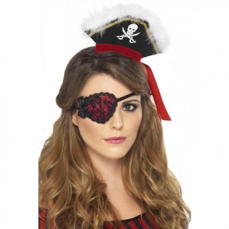 Parche pirata rojo - Imagen 1