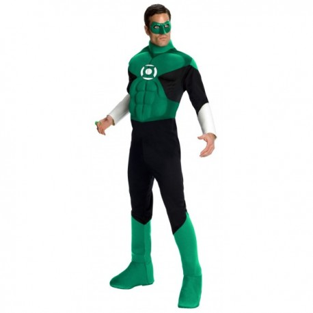 Disfraz de Linterna Verde musculoso - Imagen 1