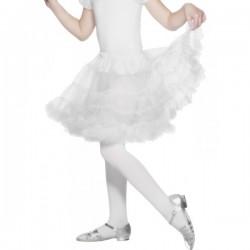 Enagua blanca para niña - Imagen 1