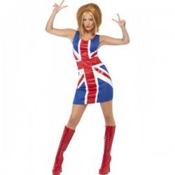 Disfraz de chica pop Geri - Imagen 1