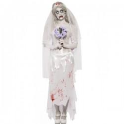 Disfraz de novia zombie - Imagen 1