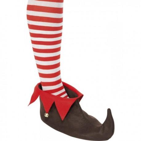 Zapatos de elfo marrones - Imagen 1