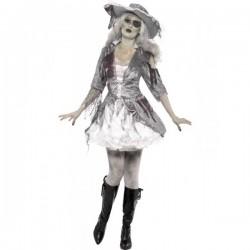 Disfraz de corsaria de barco fantasma - Imagen 1