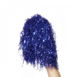 Pompones azul metálico - Imagen 1