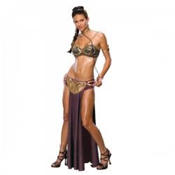 Disfraz de Princesa Leia esclava sexy - Imagen 1