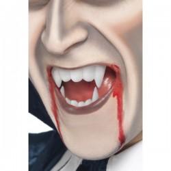Maquillaje FX efecto sangre y colmillos - Imagen 1