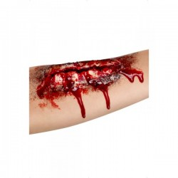Herida abierta corte profundo - Imagen 1