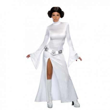 Disfraz de Princesa Leia blanca sexy - Imagen 1