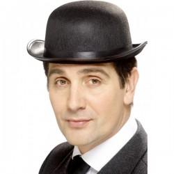 Sombrero bombín negro - Imagen 1