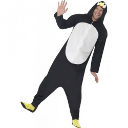 Disfraz de pingüino divertido para hombre - Imagen 1