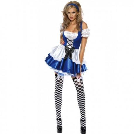 Disfraz de maravillosa Alicia Fever para mujer - Imagen 1