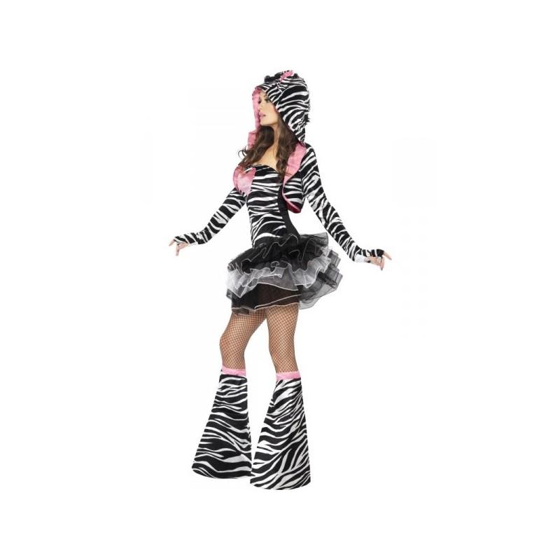 Comprar disfraz de cebra fashion para mujer for Disfraz de cebra