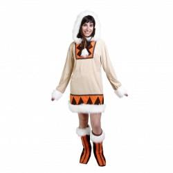 Disfraz de esquimal chica - Imagen 1