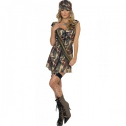 Disfraz de militar Fever para mujer - Imagen 1