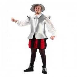 Disfraz de caballero Don Quijote - Imagen 1
