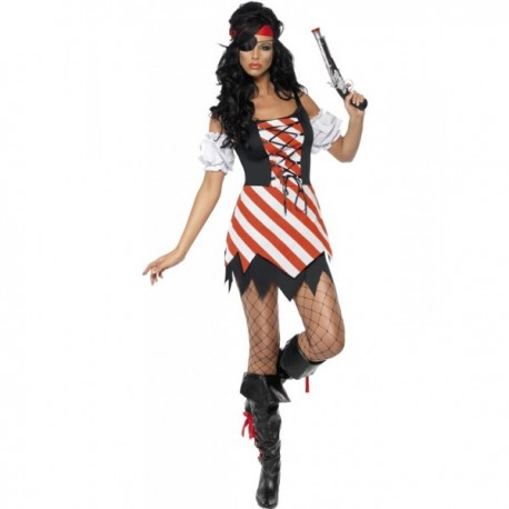 Disfraz de corsaria Fever para mujer - Imagen 1