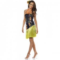 Disfraz de hawaiana glamurosa Fever - Imagen 1