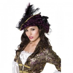 Sombrero pirata Fever - Imagen 1